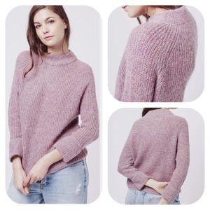 Host Pick Topshop Mock Wool Pink Sweater size 2